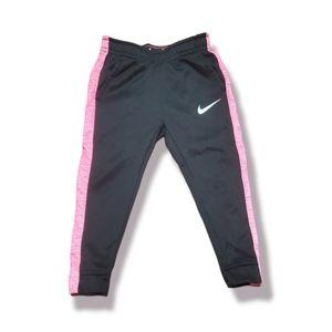 Nike DRI-FIT fleece lined joggers girls:3t
